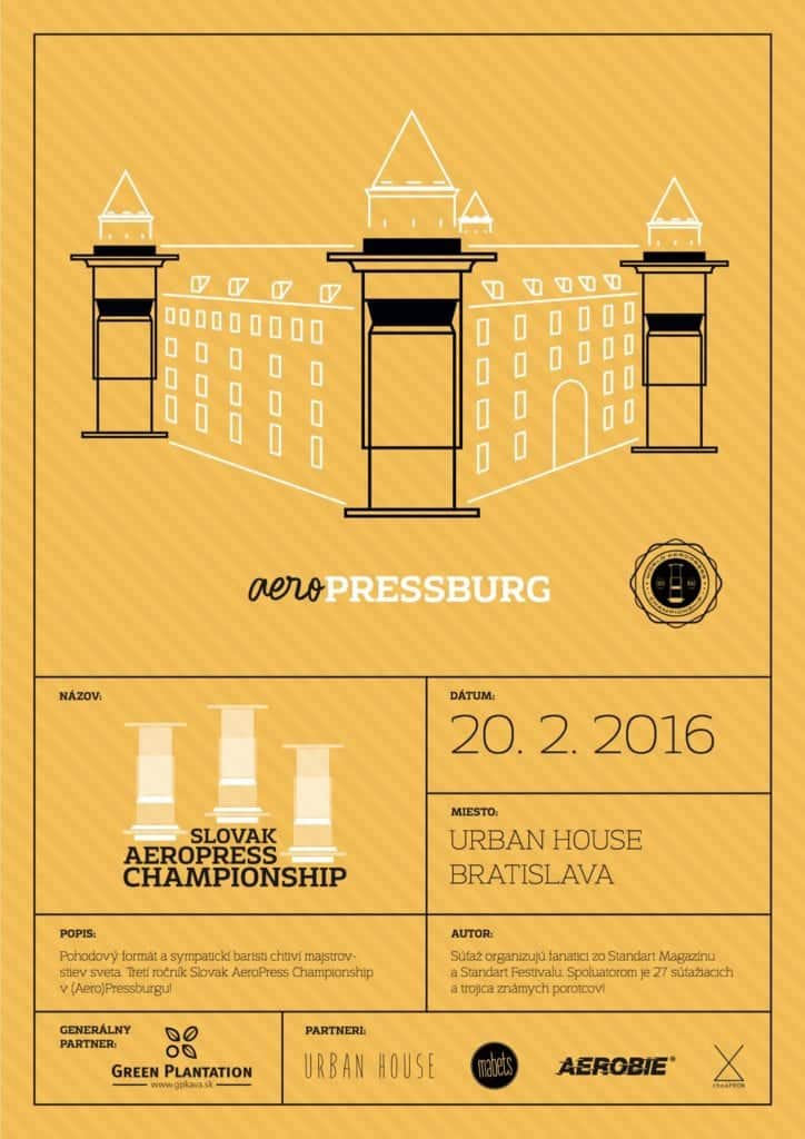 Slovak Aeropress Championship 2016