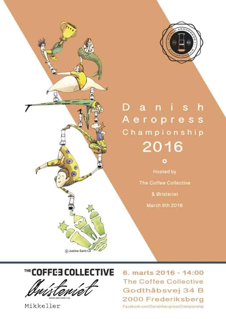 Dannish aeropresss championship 2016