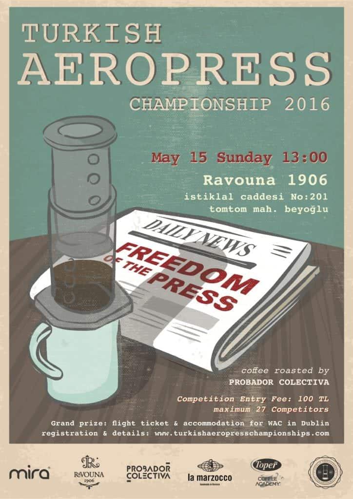 Turkish Aeropress Championship 2016