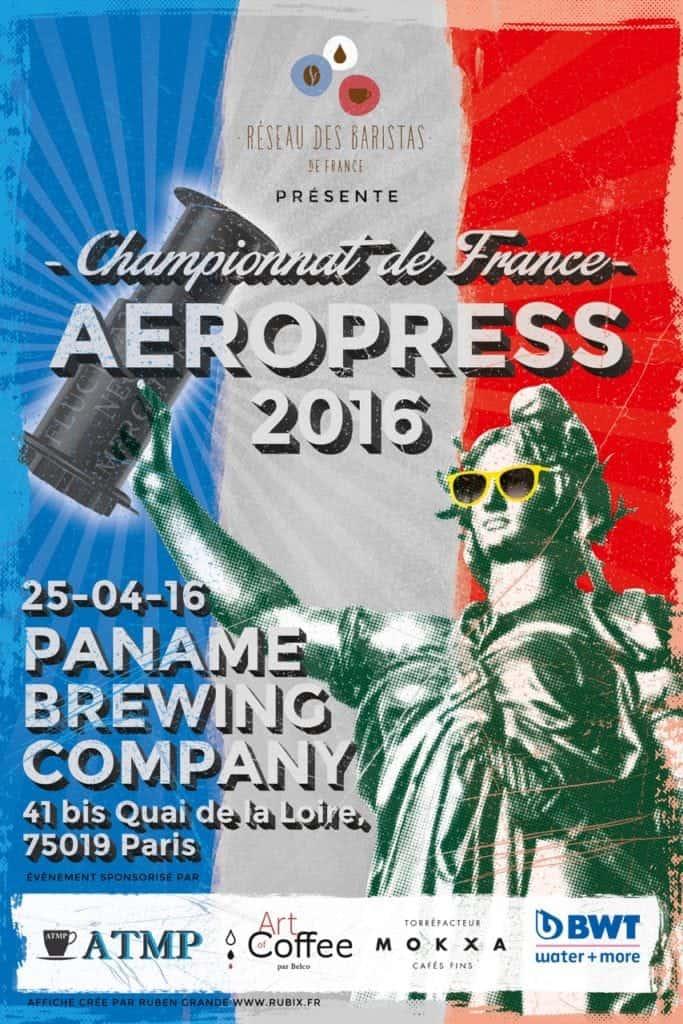 French Aeropress Championship 2016