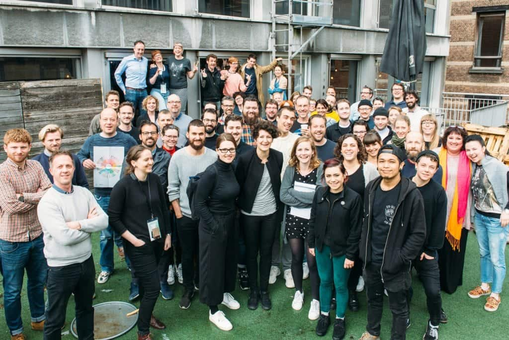 CoLab attendees_groupie