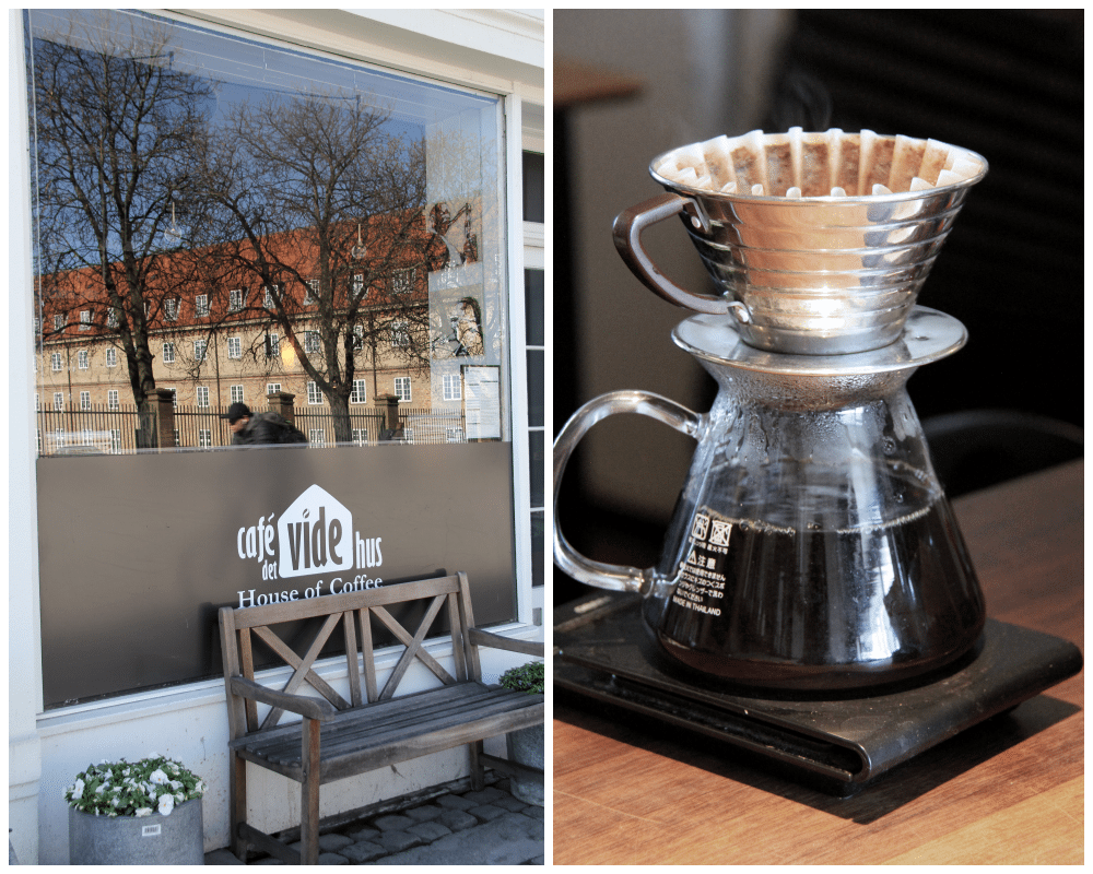 Cafe Vide Hus collage