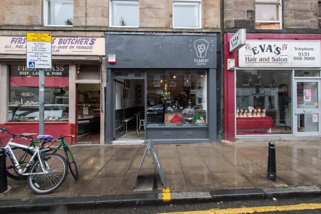 Edinburgh: Filament Coffee #1