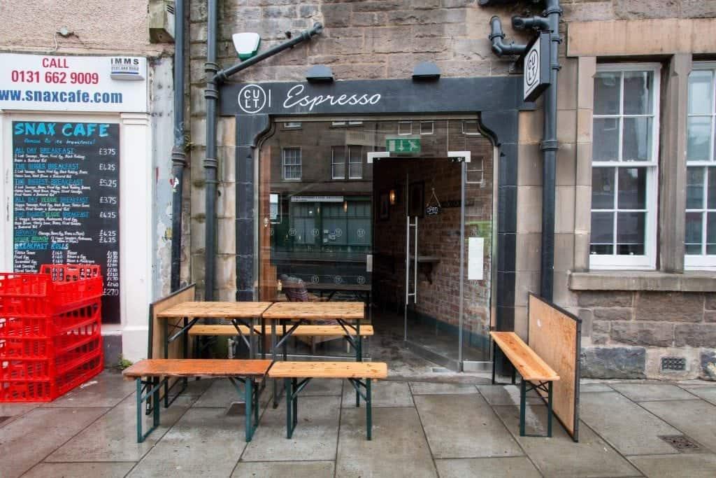 Edinburgh: Cult Espresso #1