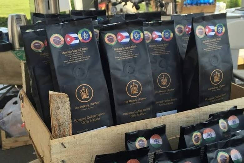 His Majesty the Coffee, packaging