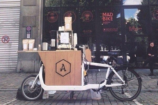 Apex, Brussels, coffee bike