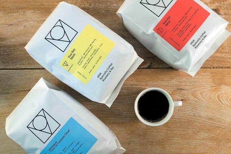 MOK, Brussels, coffee bags
