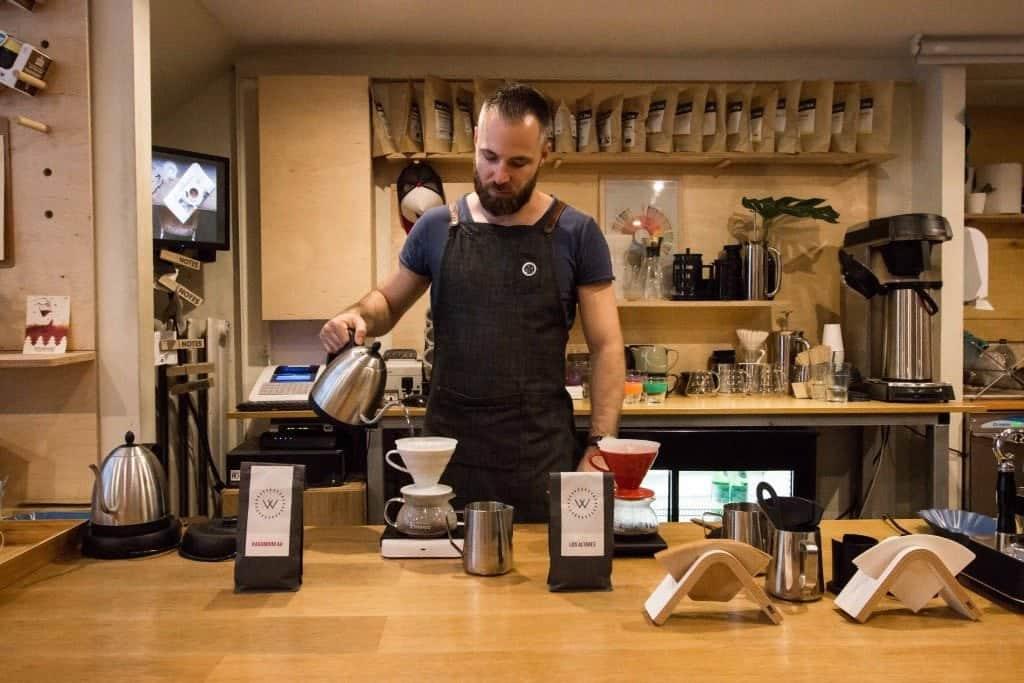 My Little Melbourne, Budapest, bar, barista, filter coffee