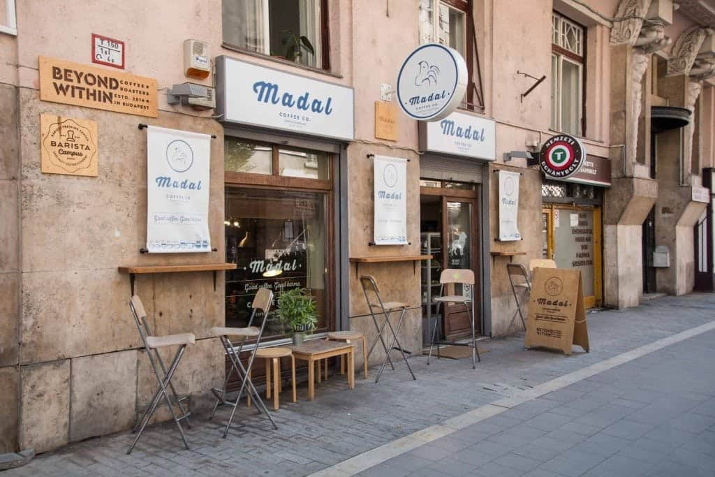 Madal Coffee 1 Budapest