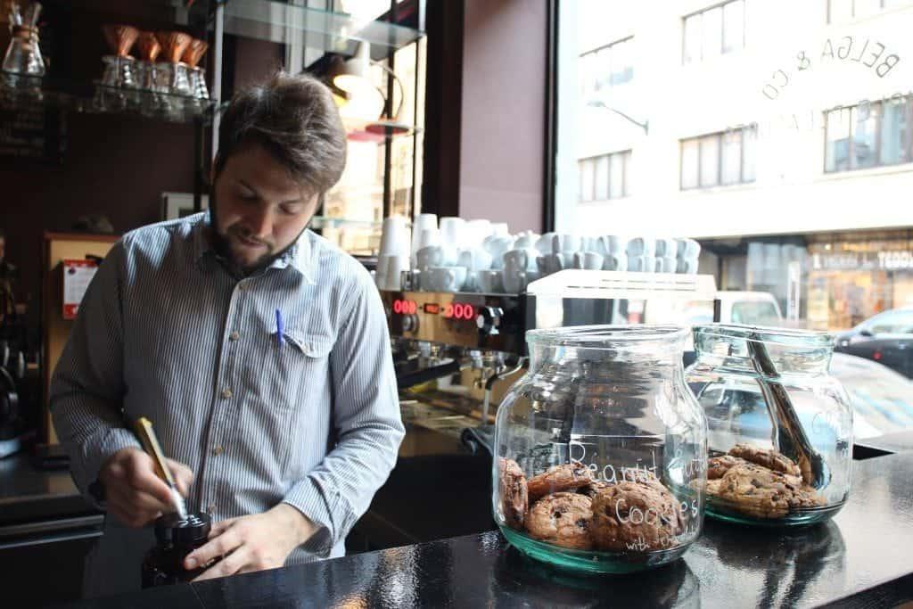 Belga&Co, Brussels, Bar, Barista, Sweets