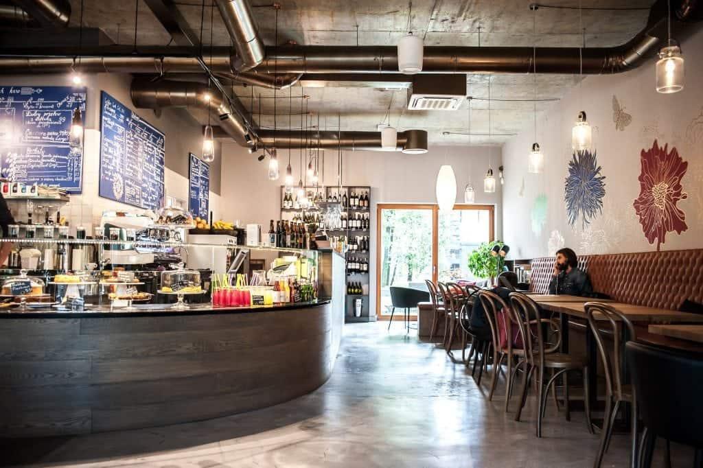 Blossom, Krakow, Interior, Bar