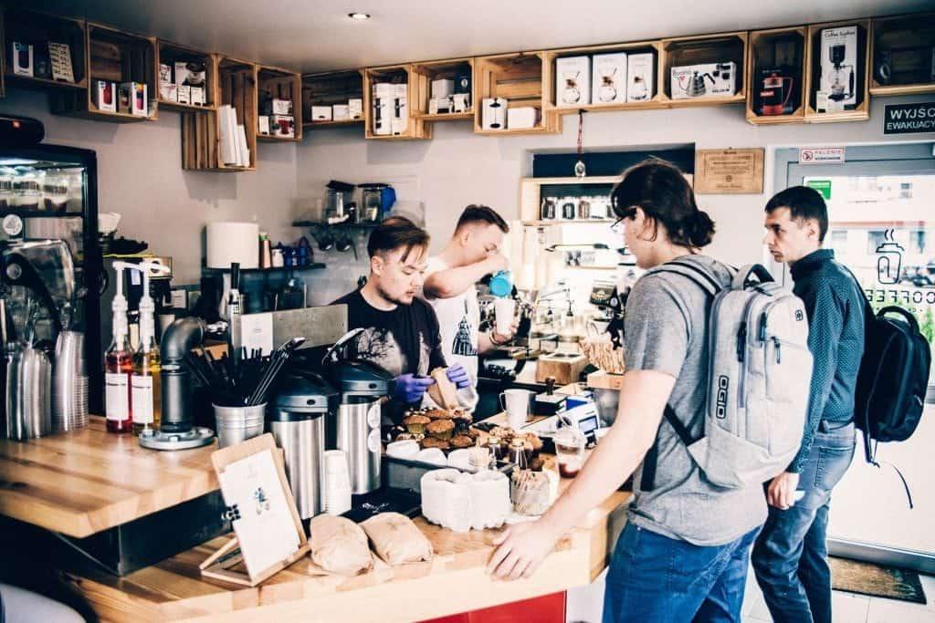 Coffeece, Krakow, bar