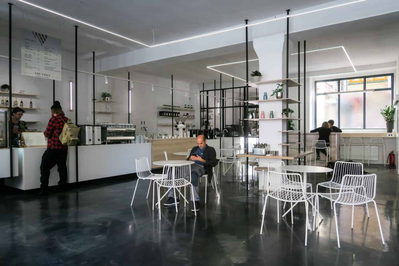 The Visit A Fusion Of Specialty Coffee Roastery Espresso Bar And Kitchen In Berlin