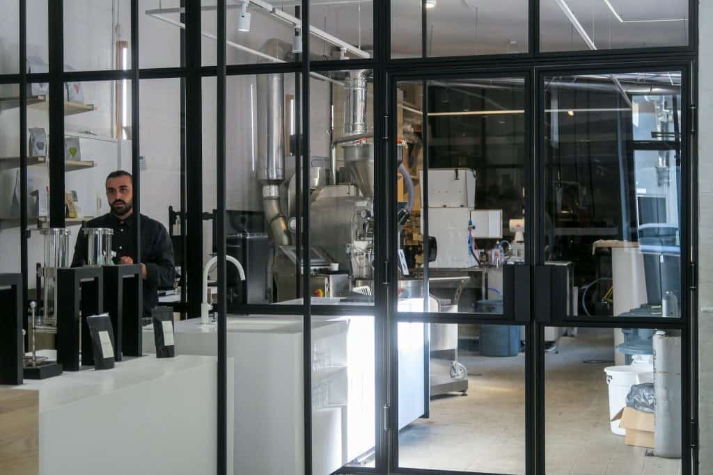 the visit, Berlin, roastery, loring