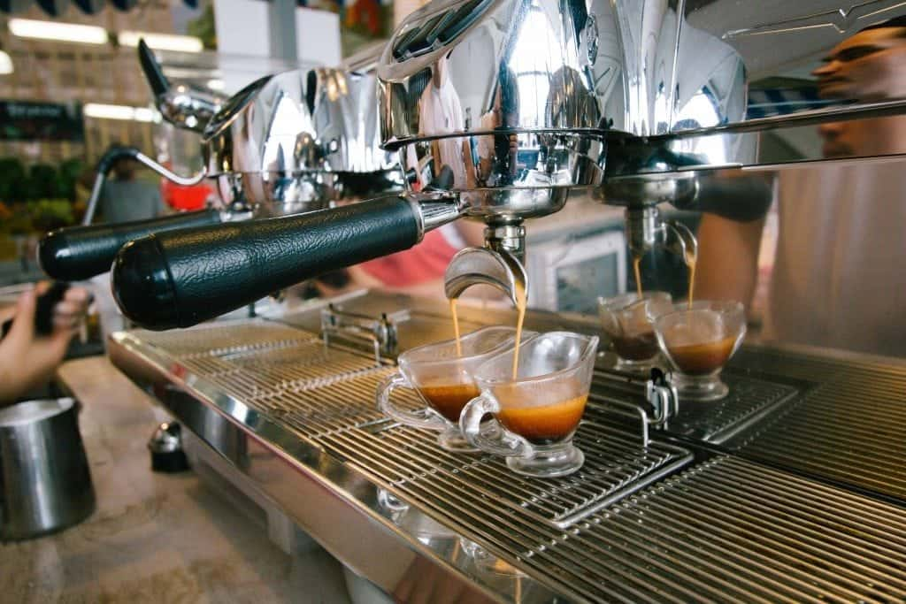 Chelovek i Parohod, espresso shots