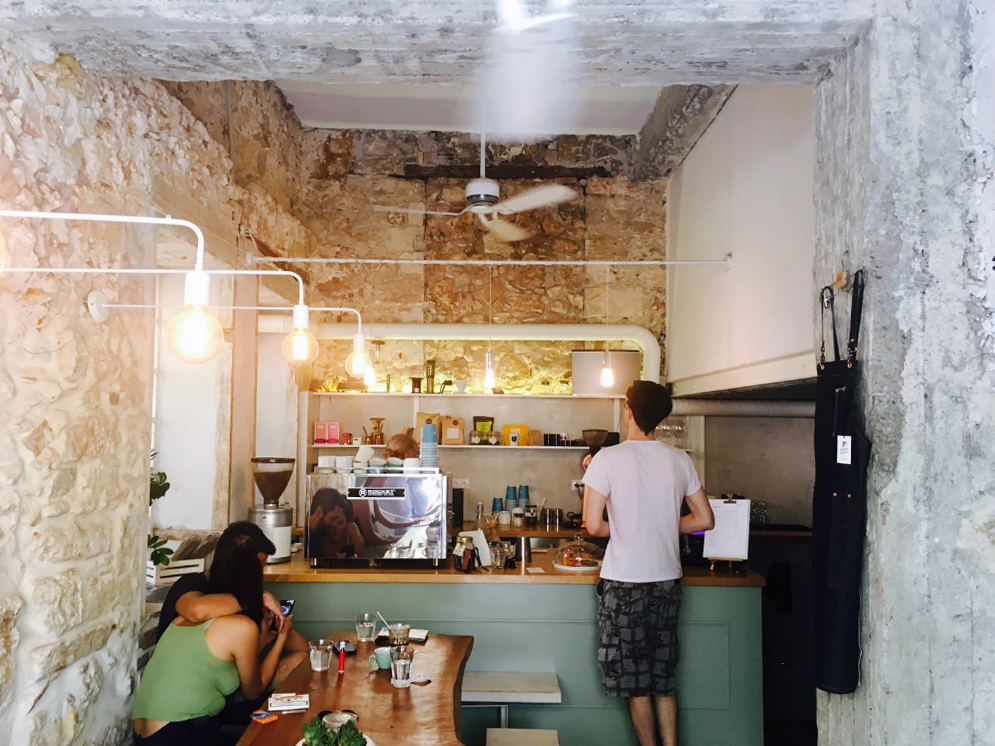 Discovering Speciality Coffee in Crete - KROSS COFFEE WORKS