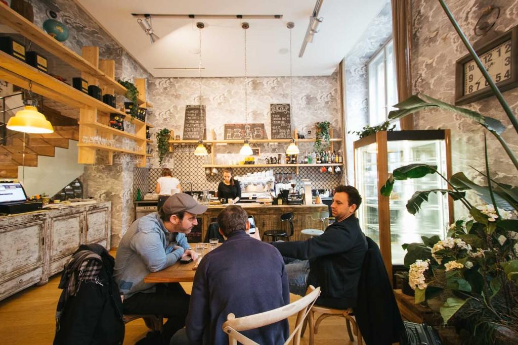 Third Wave Wichteln Goes Czech Republic - La Boheme Cafe