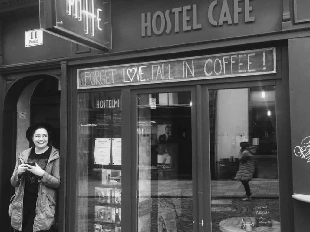 International Vibes of Café Mitte in Brno