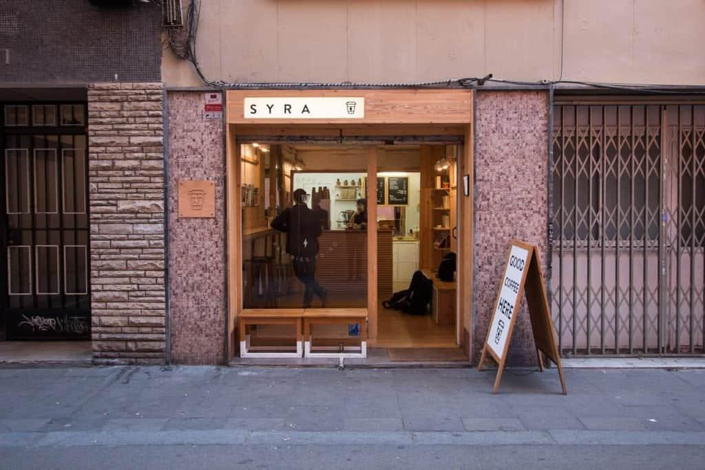 Syra, Barcelona