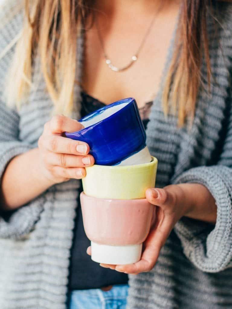 Ceramics in cafes