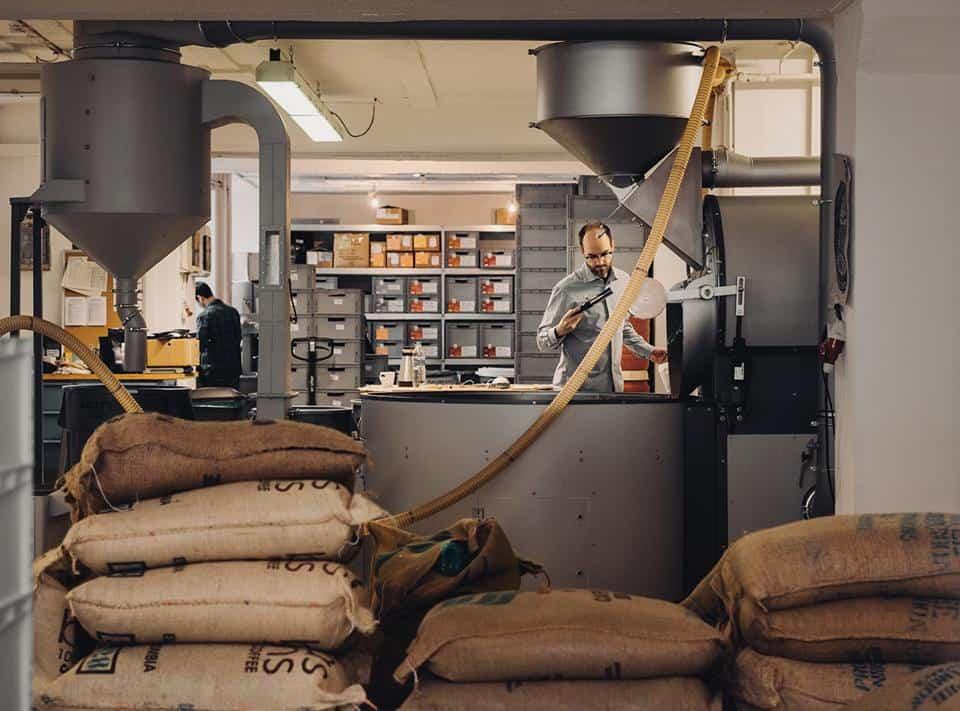 Coffee Circle Rosterei Opening European Coffee Trip