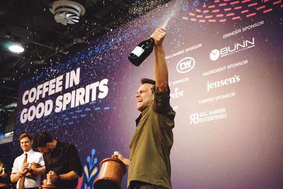 Martin Hudak - Coffee in Good Spirits Champion 2017