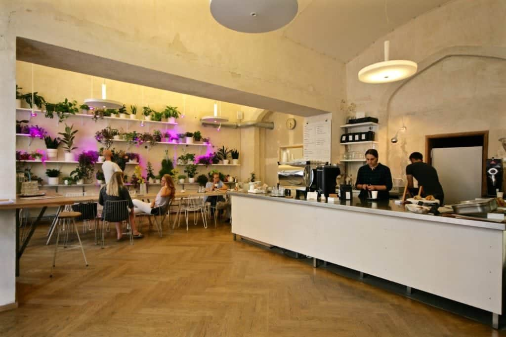 Coffee in Prague