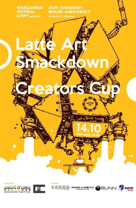 poster for Creators Cup Warsaw
