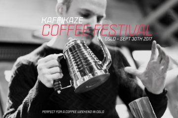 Kaffikaze Coffee Festival flyer