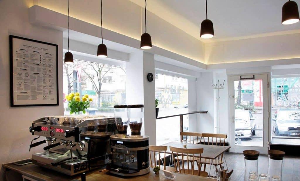 Mókuska Caffè interior