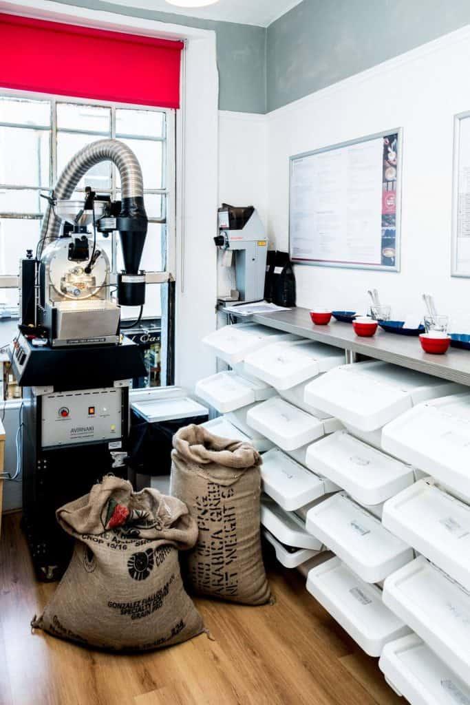 9th Degree Coffee roastery