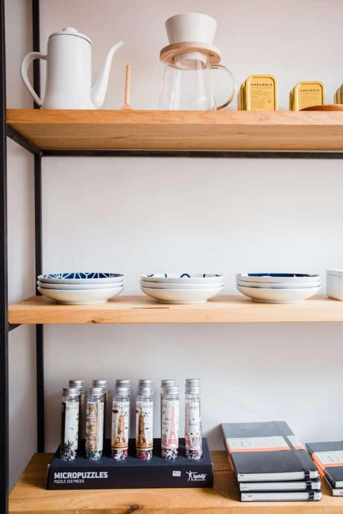 Ceramics to buy at Coffeewerk + Press, Galway