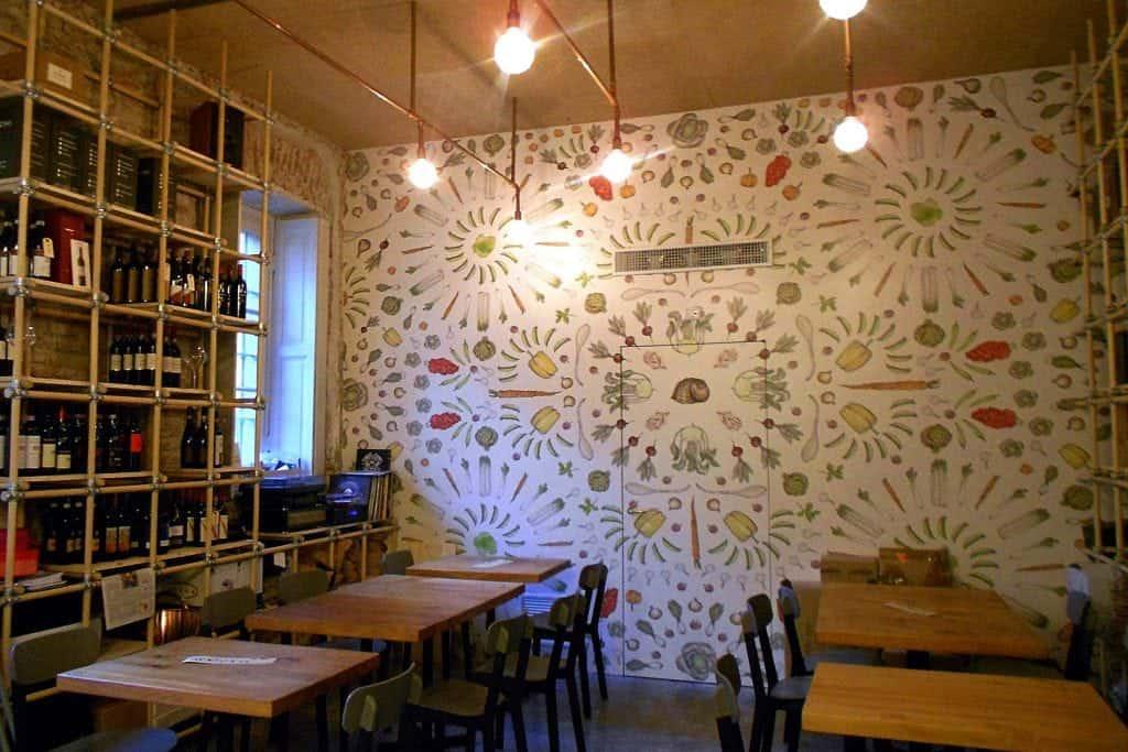 interior of Taglio