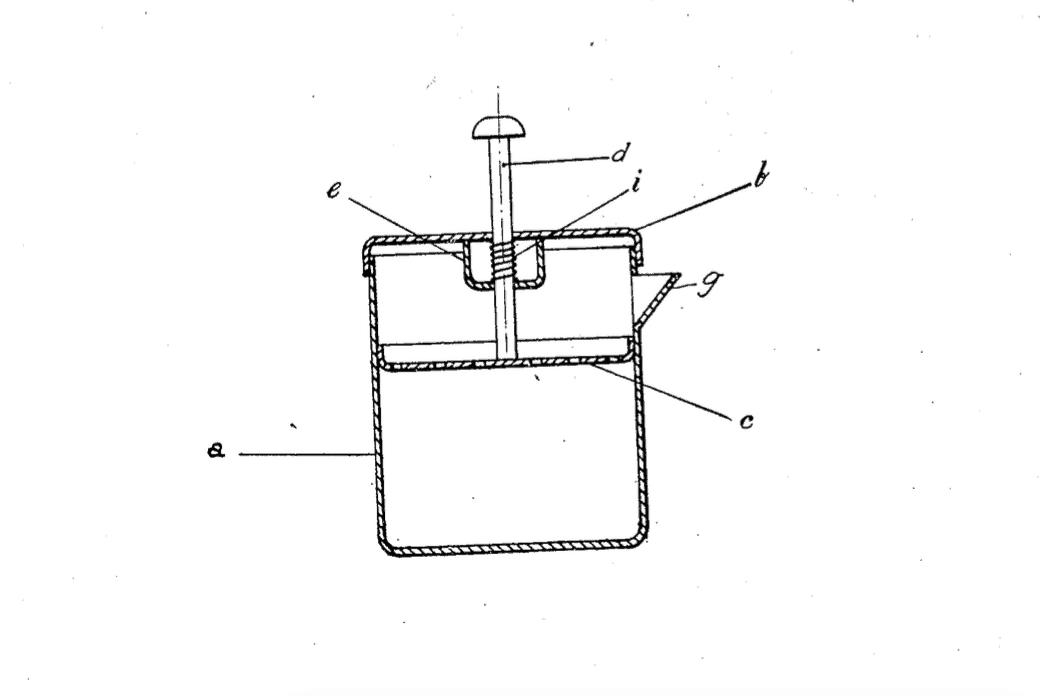Первый патент Френч пресса