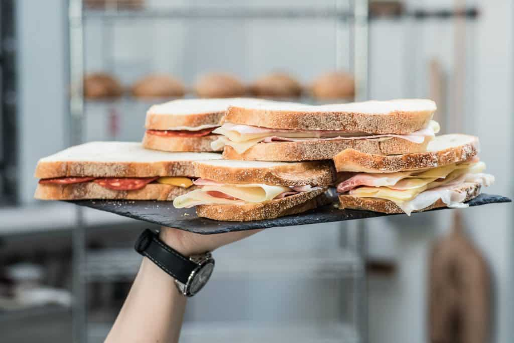 Sandwiches at Alf&Bet