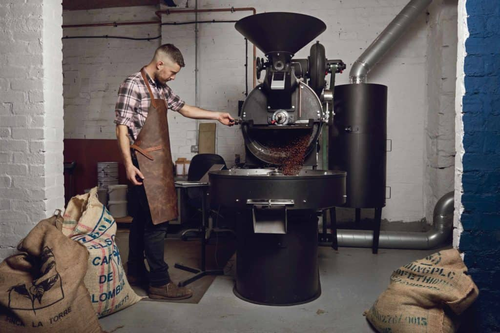 The Good Coffee Cartel's roastery