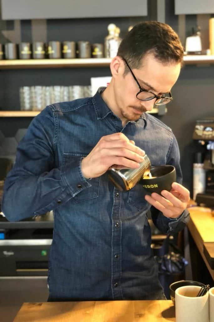 Alexander Datsos, barista Stories,