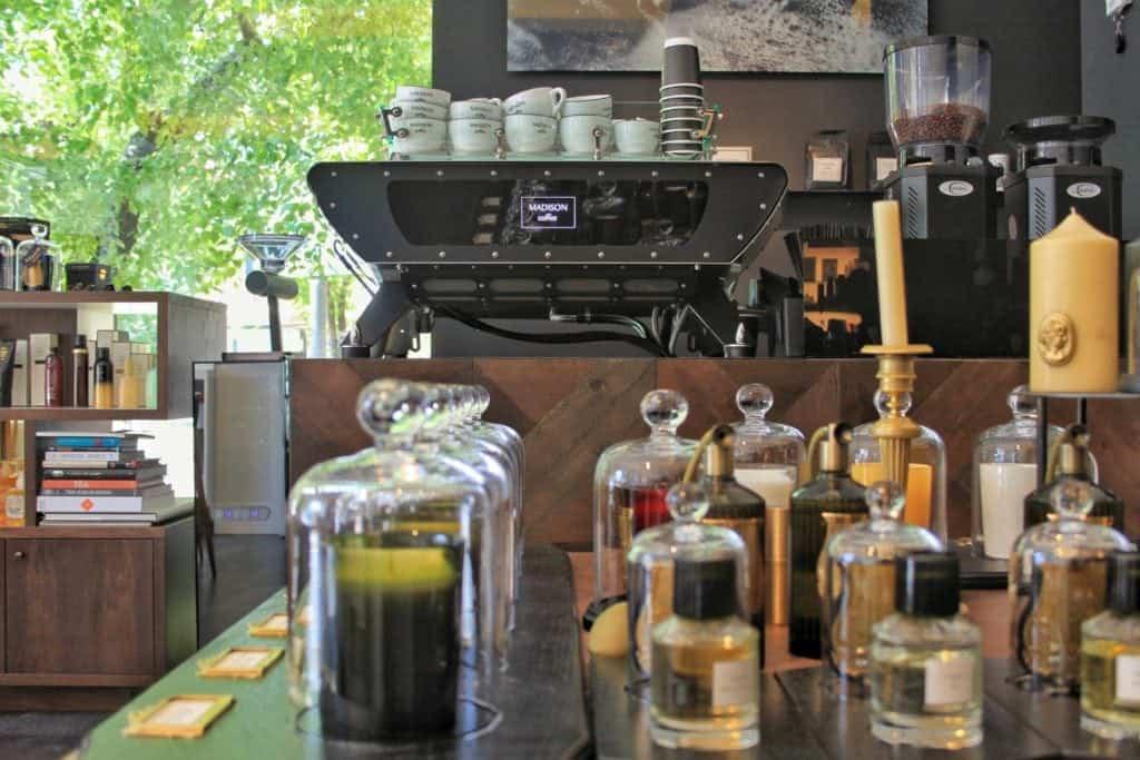 Madison Perfumes and Coffee