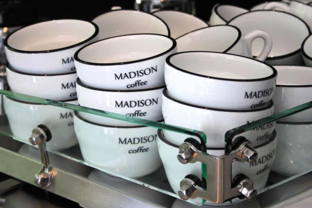 Cups at Madison Perfumery