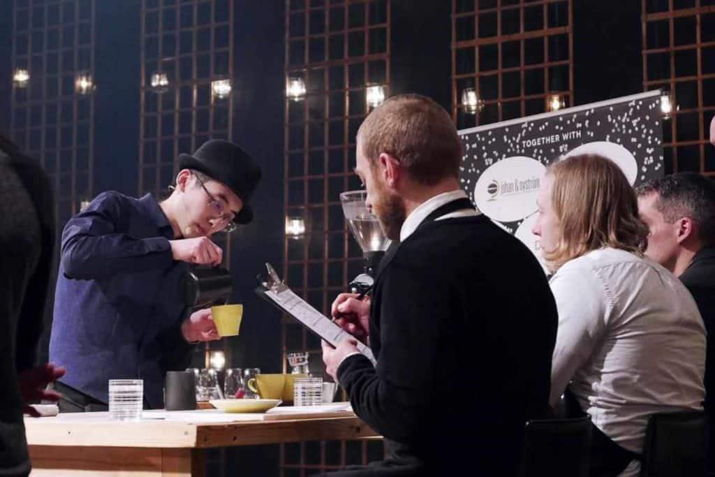 Nikko Liu, Andante, Helsinki, Barista Stories