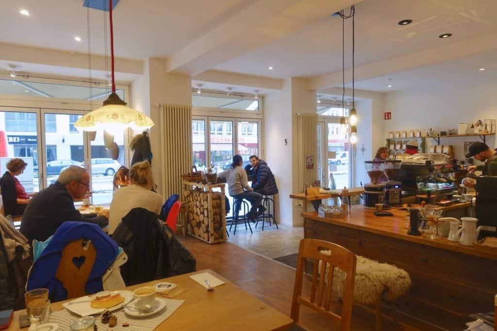 Vogelmaier Kaffeerösterei, interior