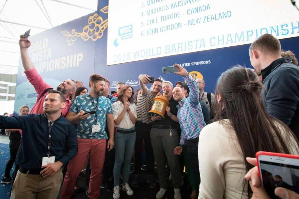 Aga Rojewska, 2018 World Barista Champion