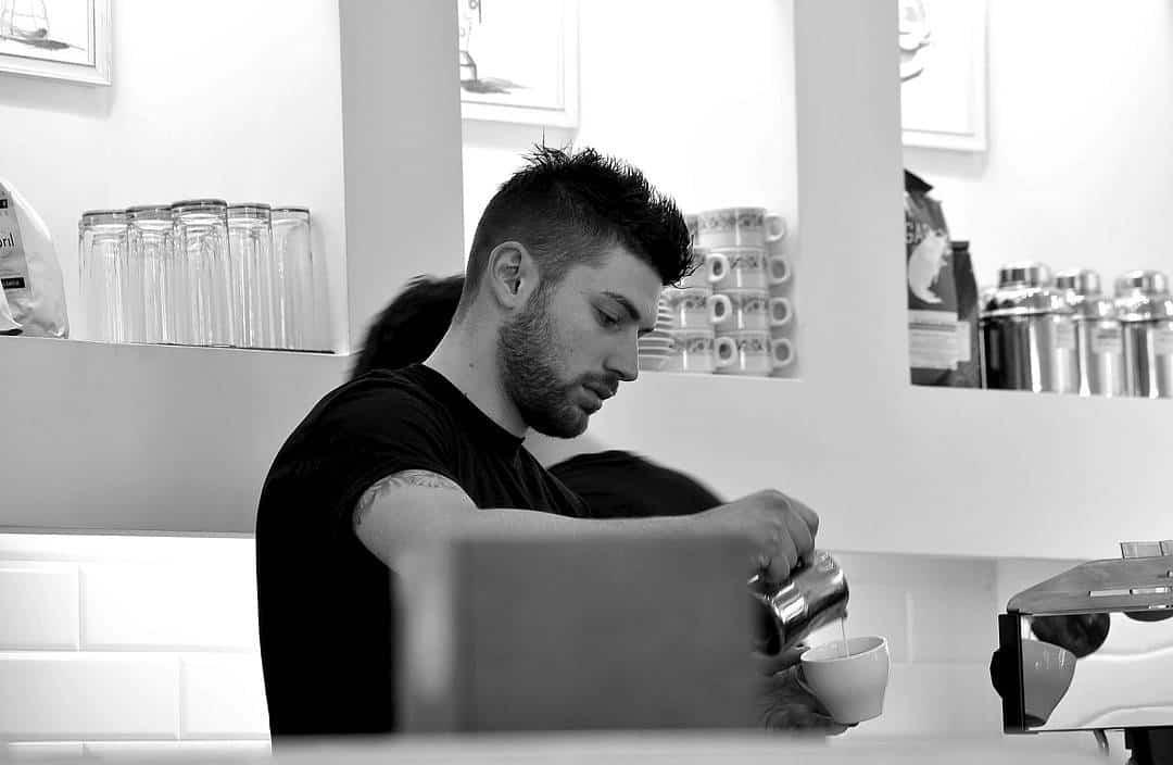 Alessandro Chiodi, Barista Storie, Faro, Rome, Italy