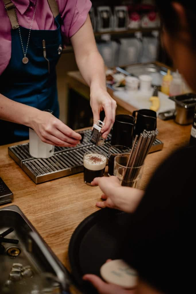 Irish coffee, Coffee Cocktails, Happy Baristas, Berlin