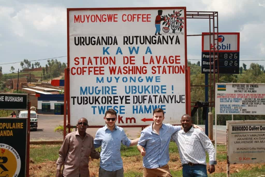 Gorifee - Erik and Matej in Rwanda