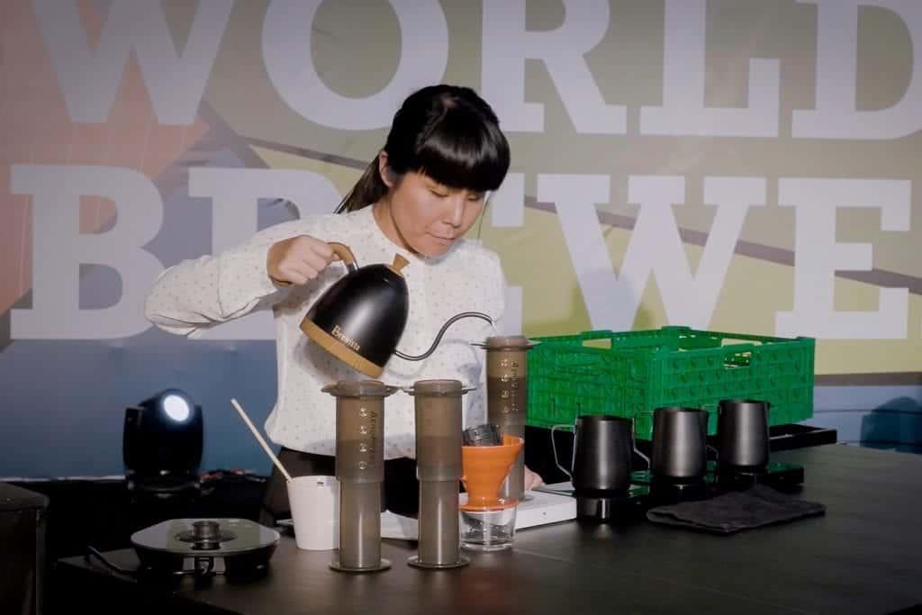 Emi Fukahori, compulsory round, WBrC 2018