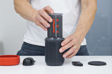 AeroPress Go - What's inside the package?