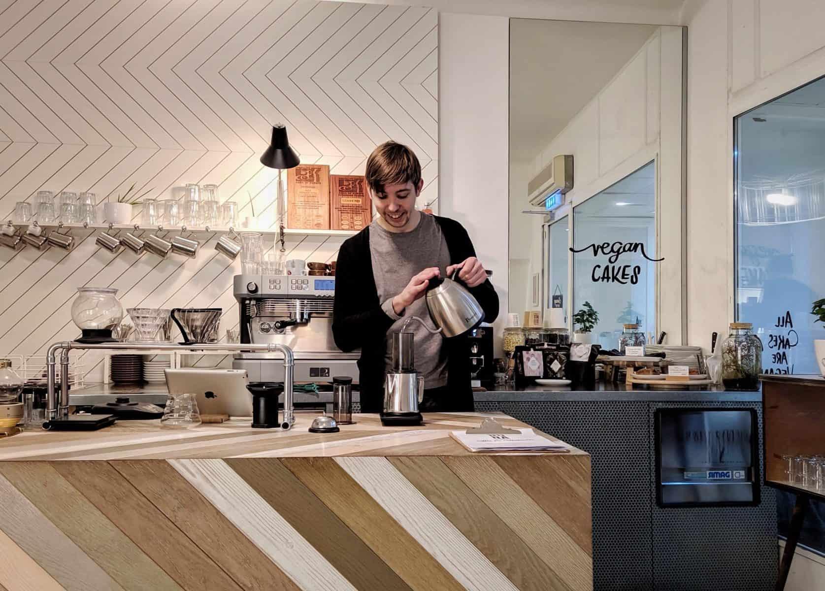 Barista Stories: Matthias Zechner of BUNA Kaffee in Graz