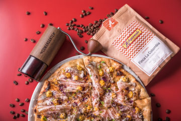 Tasting First-Ever Specialty Coffee Pizza in Rome