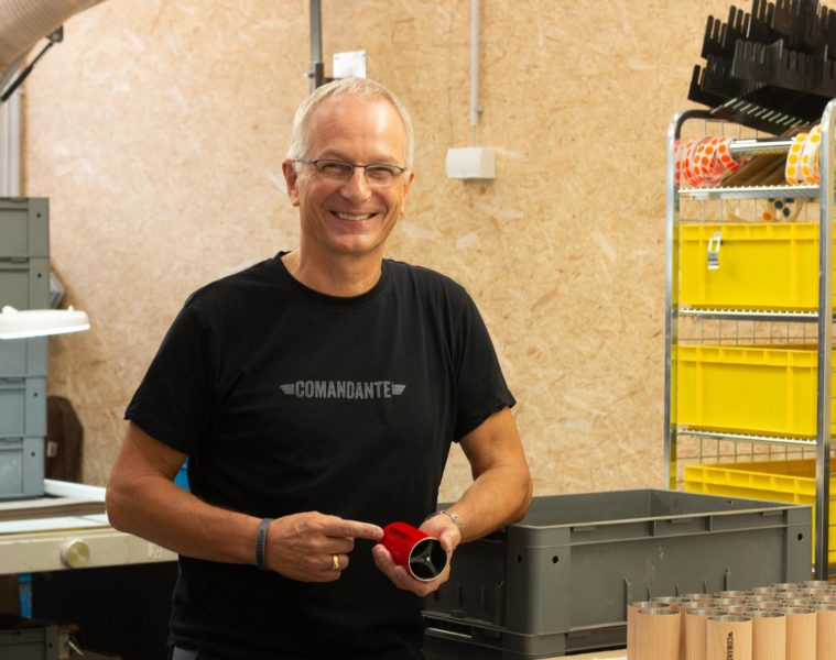 Comandante Grinder Factory Tour with The Founder